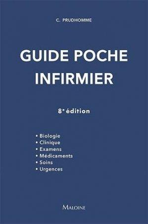 Guide poche infirmier - maloine - 9782224036225 -