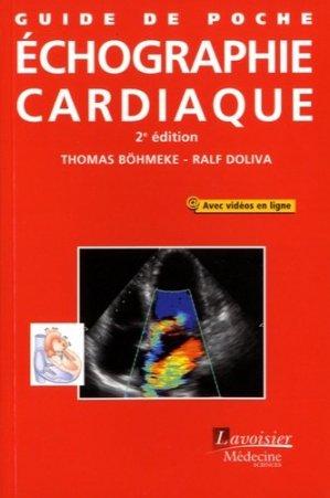 Guide de poche d'échographie cardiaque - lavoisier msp - 9782257206671 -