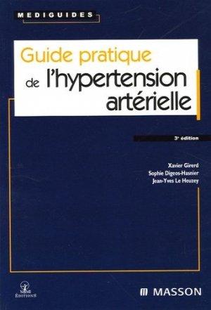 Guide pratique de l'hypertension artérielle - elsevier / masson - 9782294013720 -