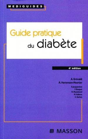 Guide pratique du diabète - elsevier / masson - 9782294704895