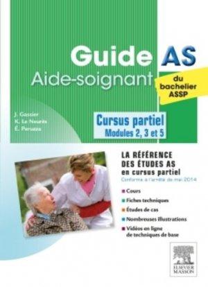 Guide AS du bachelier ASSP - elsevier / masson - 9782294746024 -