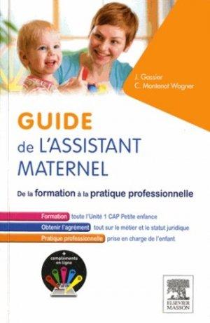 Guide de l'assistant maternel - elsevier / masson - 9782294747847 -