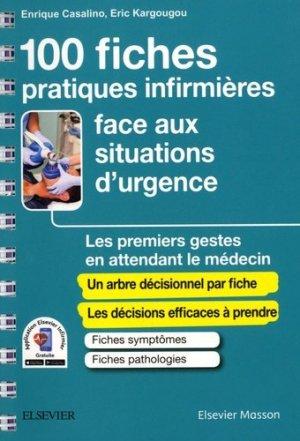 Guide de l'infirmier(e) face aux situations d'urgence - elsevier / masson - 9782294755484 -