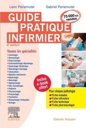 Guide pratique infirmier + Appli - elsevier / masson - 9782294763106 -