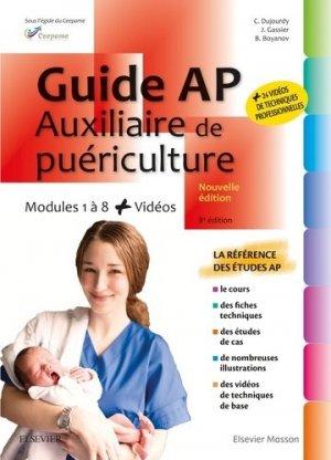 Guide AP - Auxiliaire de puériculture - elsevier / masson - 9782294764424