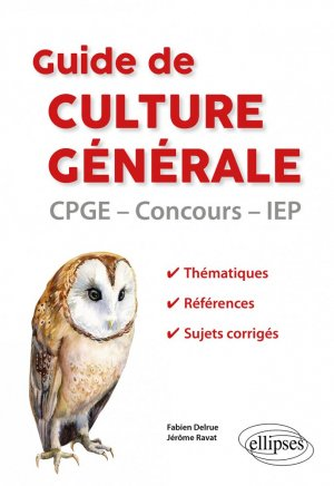 Guide de culture générale - Ellipses - 9782340035713 -