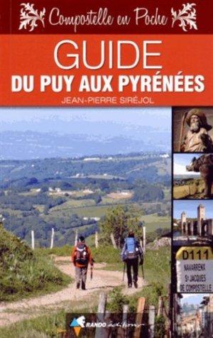 Guide du Puy aux Pyrénées - rando - 9782344007471 -