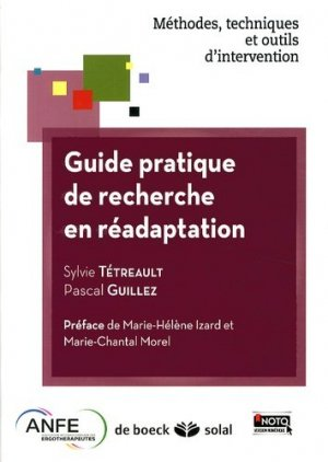 Guide pratique de recherche en réadaptation-de boeck superieur-9782353272679