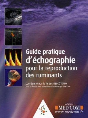 Guide pratique d'échographie pour la reproduction des ruminants - med'com - 9782354030285 -