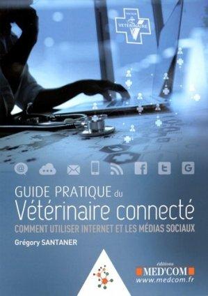 Guide pratique du vétérinaire connecté - med'com - 9782354032258 -