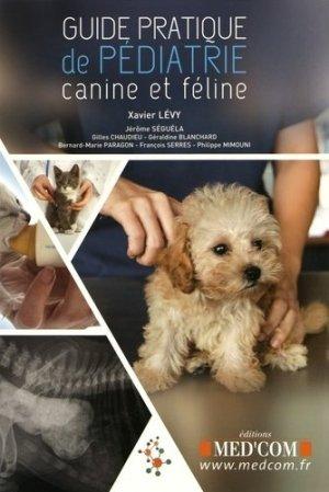 Guide pratique de pédiatrie canine et féline-med'com-9782354032395