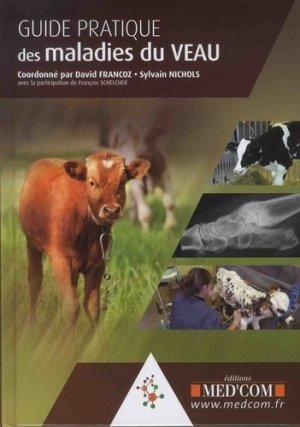 Guide pratique des maladies du veau - med'com - 9782354032432 -