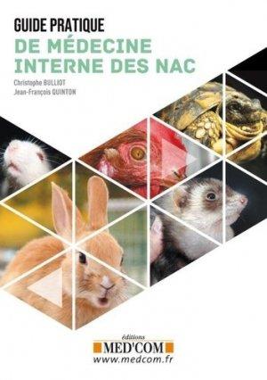 Guide pratique de médecine interne des NAC - med'com - 9782354032692 -