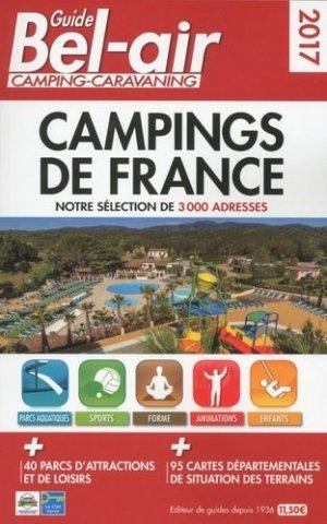 Guide Bel-Air Campings de France - motor presse - 9782358680400 -