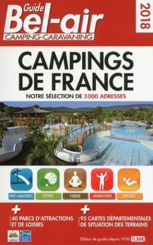 Guide Bel-air campings de France - motor presse - 9782358680431 -