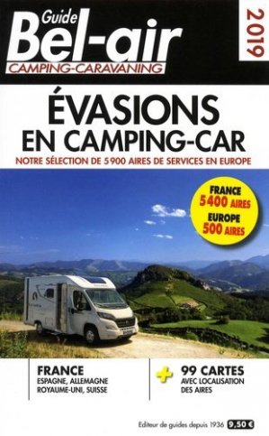 Guide Bel-air Evasions en camping-car - motor presse - 9782358680455 -