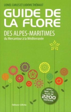 Guide de la flore des Alpes-Maritimes - gilletta - 9782359560879 -