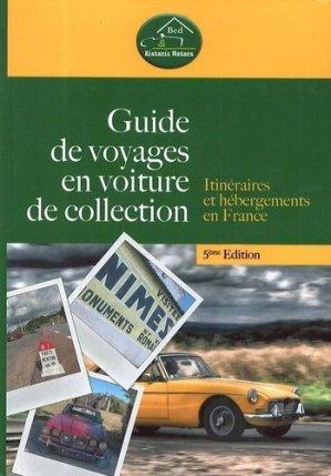 Guide de voyages en voiture de collection - le voyageur - 9782362140303 -