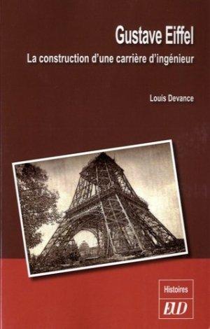 Gustave Eiffel - editions universitaires de dijon - 9782364411630 -