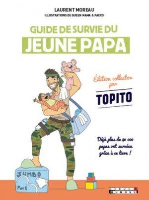 Guide de survie du jeune papa - tut tut - 9782367042718 -