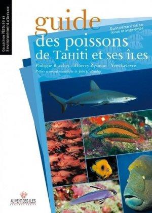 Guide des poissons de Tahiti et ses îles - au vent des iles - 9782367341484 -