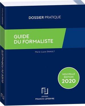 Guide du formaliste - Francis Lefebvre - 9782368935279 -