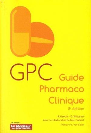 Guide Pharmaco Clinique-le moniteur des pharmacies-9782375190241