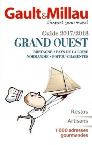 Guide grand ouest 2017 - gault et millau - 9782375570012 -