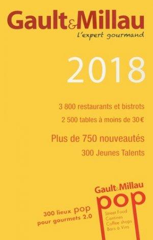 Guide France. Edition 2018 - gault et millau - 9782375570074 -