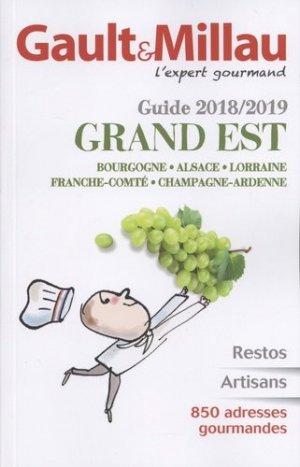 Guide Grand-Est 2017/18 - gault et millau - 9782375570135 -
