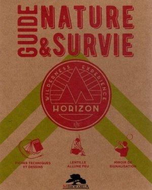 Guide nature et survie - Memorabilia - 9782377830244 -