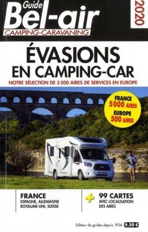 Guide Bel-Air Evasions en camping-car - Regicamp - 9782380770001 -