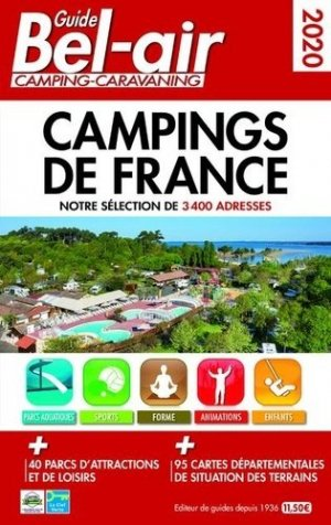 Guide Bel-Air campings-caravaning - Regicamp - 9782380770056 -