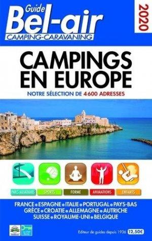 Guide Bel Air camping-caravaning. Campings en Europe, Edition 2020 - Regicamp - 9782380770063 -