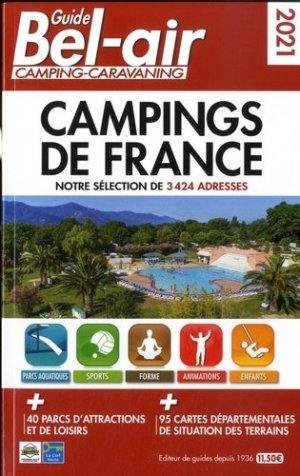 Guide Bel Air campings de France - Regicamp - 9782380770131 -