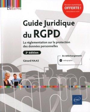 Guide Juridique du RGPD - eni - 9782409023088 -