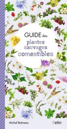 Guide des plantes sauvages comestibles - belin - 9782410017366 -