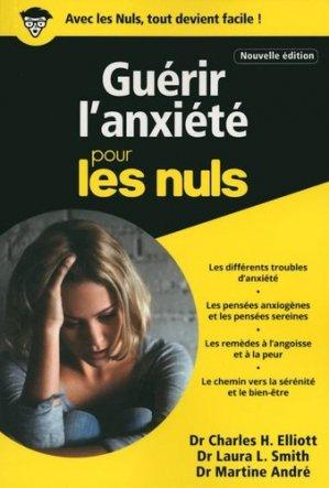 Guérir l'anxiété poche pour les nuls - first  - 9782412022603 -