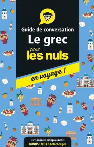 Guide de conversation grec pour les nuls - first - 9782412042588 -