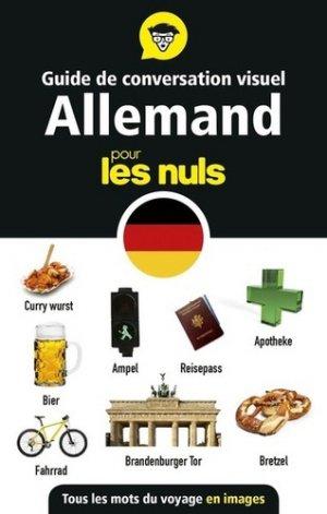 Guide de conversation visuel allemand pour les nuls - first - 9782412044728 -