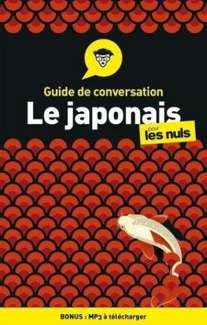 Guide de conversation japonais pour les nuls - First - 9782412055786 -