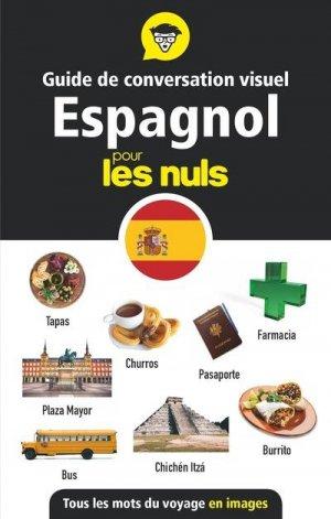 Guide de conversation visuel espagnol pour les nuls - First - 9782412055823 -