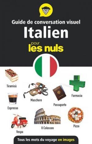 Guide de conversation visuel italien pour les nuls - First - 9782412055830 -