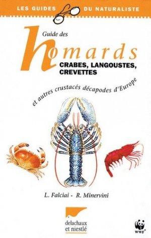 Guide des homards, crabes, langoustes, crevettes et autres crustacés décapodes d'Europe - delachaux et niestle - 9782603009949 -