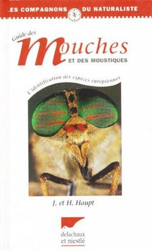 Guide des mouches et des moustiques - delachaux et niestle - 9782603011751 -