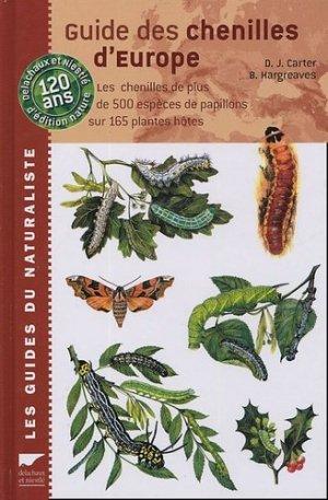 Guide des chenilles d'Europe - delachaux et niestle - 9782603014448 -