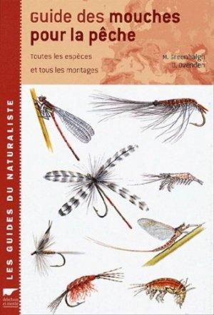 Guide des mouches pour la pêche - delachaux et niestle - 9782603014882 -