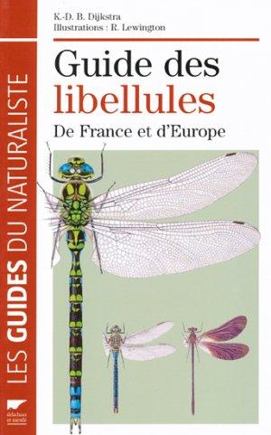 Guide des libellules de France et d'Europe - delachaux et niestle - 9782603016398 -