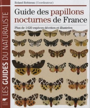 Guide des papillons nocturnes de France - delachaux et niestle - 9782603018194 -