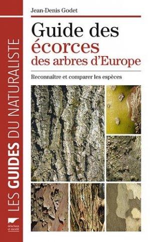 Guide des écorces des arbres d'Europe - delachaux et niestle - 9782603018491 -